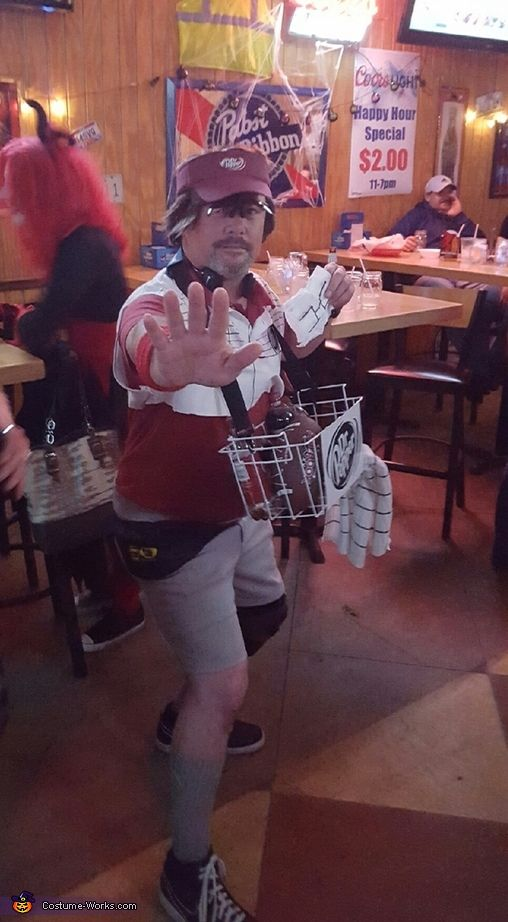 larry the dr pepper guy halloween costume contest via