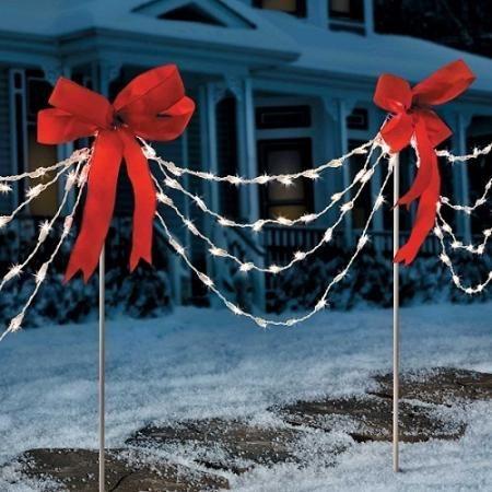 christmas decor - Christmas Swag Lights