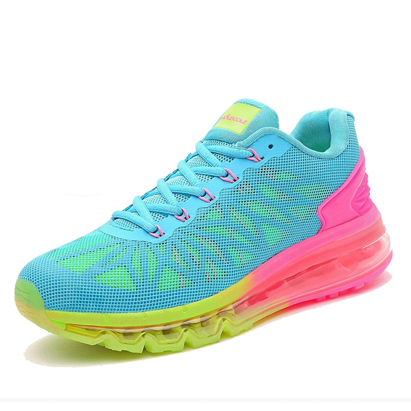 76.66$  Buy now - http://alikir.worldwells.pw/go.php?t=32754193043 - Brand Full Air Sole Running Shoes For Women Sneakers Breathable Runner Shoes Damping Trainers Womens Sport Shoes