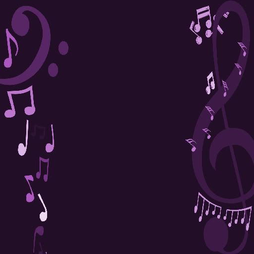 Purple Music Notes Wallpaper Background For Music Wallpaper Music Notes Background Music Notes
