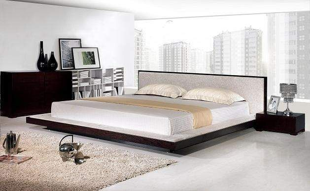Decorating Ideas Small Bedroom Low Profile Bed Range Furniture 629x389