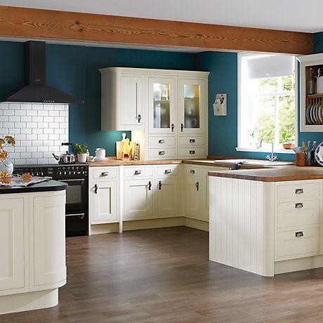 Carisbrooke Ivory Framed Cooke & Lewis Kitchen | Kitchen | Pinterest ...