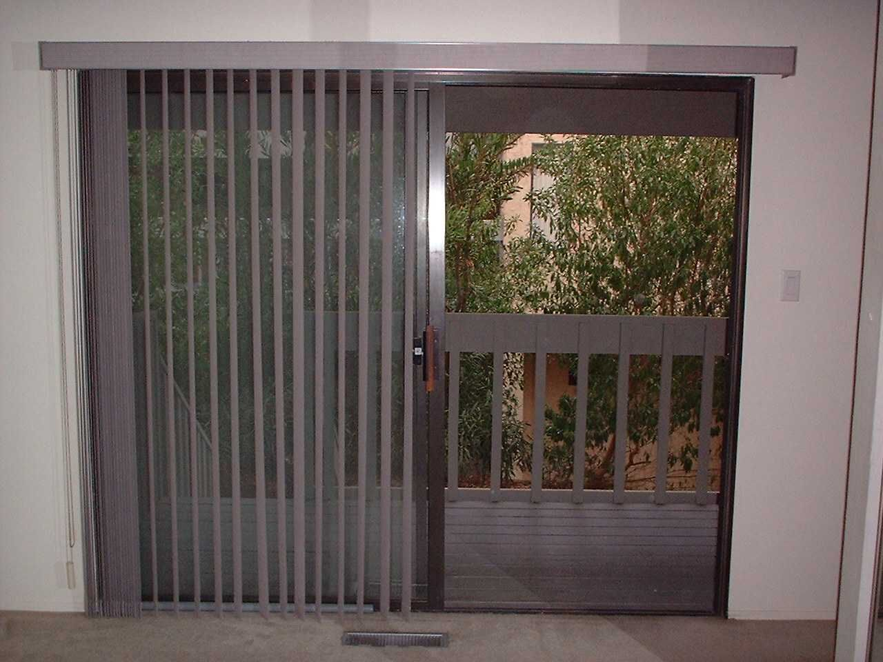 Is Built In Patio Door Blinds A Good Choice Drapery Room