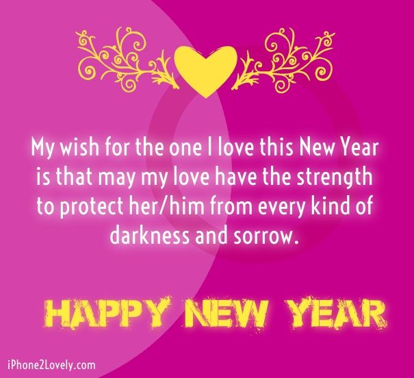new year 2017 love wishes