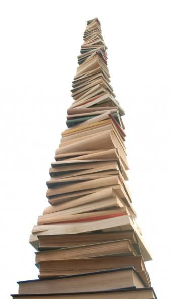 Resembles my to-read stack. And yet I buy more....