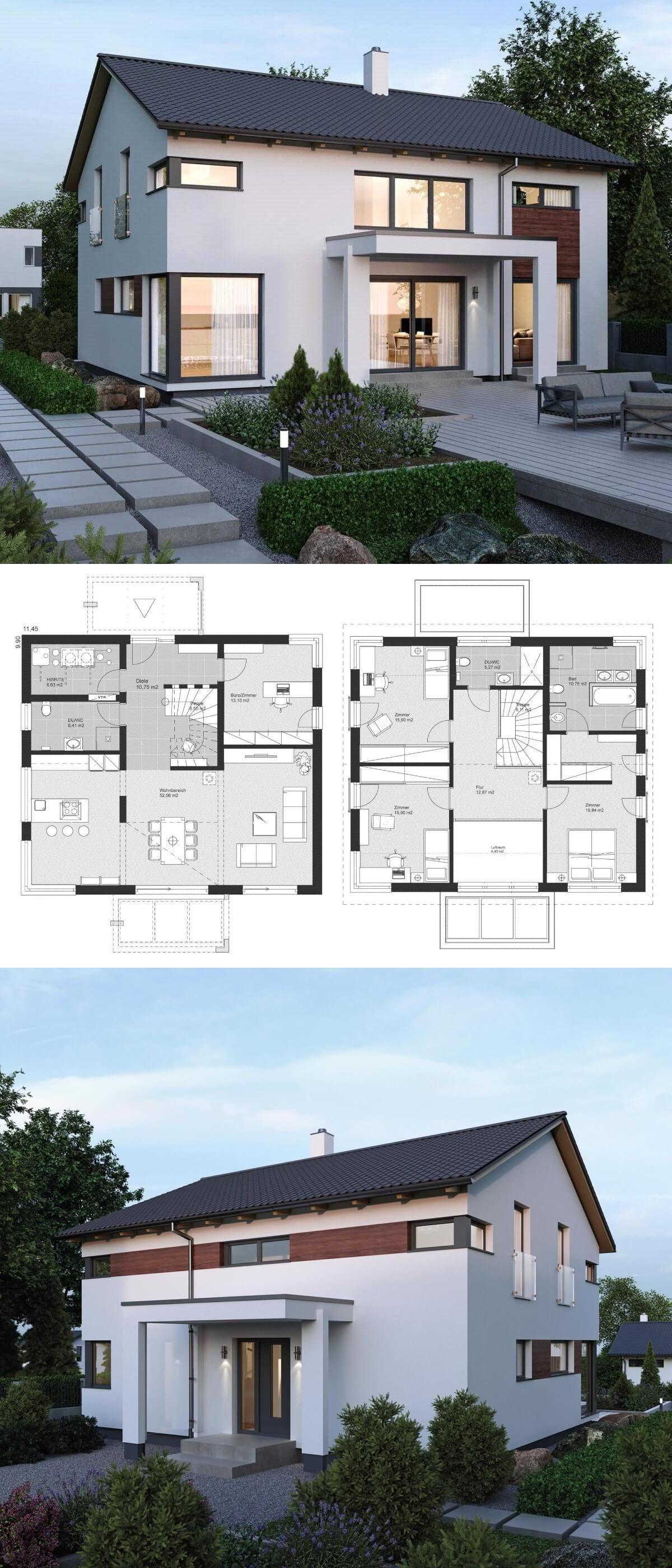 Einfamilienhaus ELK Haus 189 mit Galerie ELK Fertighaus