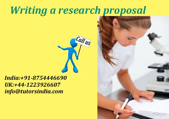 Writing A Research Proposal To Pursue Research Study In Intended