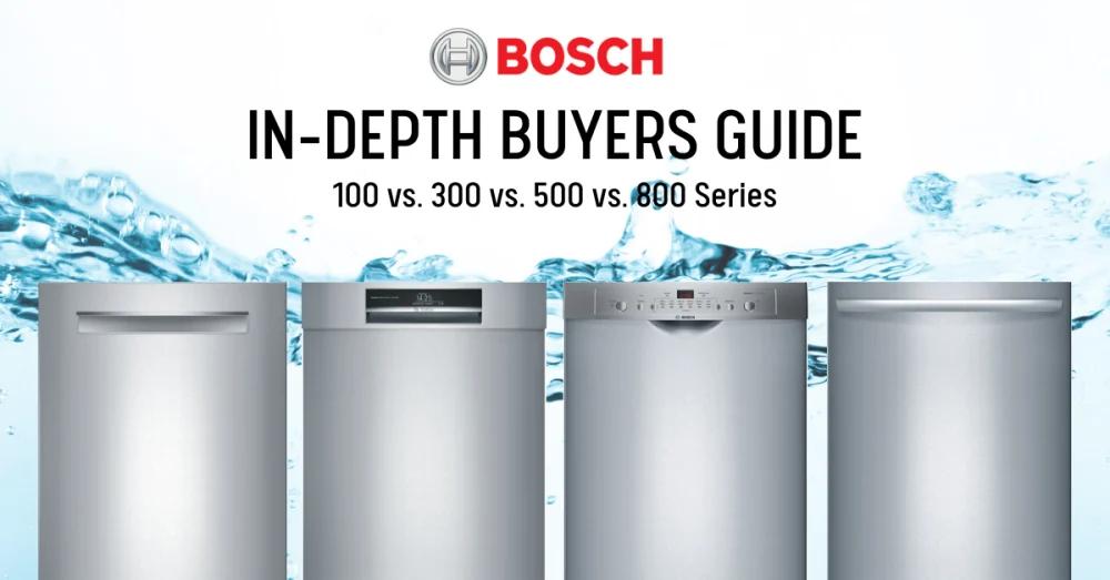 Bosch Dishwasher Review 100 Vs 300 Vs 500 Vs 800 Series Best Of 2021 Dishwasher Reviews Bosch Dishwashers Best Dishwasher