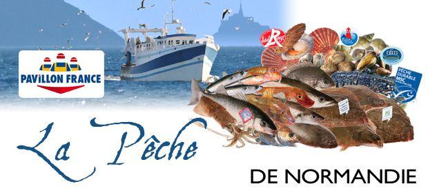 Produits Pêche Normandie Pavillon France