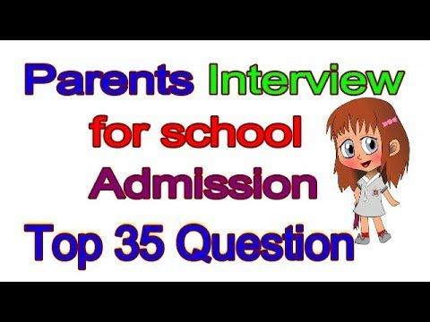 Parent's Interview .. Interviews questions and answers for ...