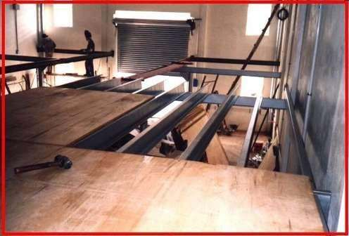 Entrepiso metalico escaleras osb madera chapa met - Como hacer una escalera de madera para entrepiso ...