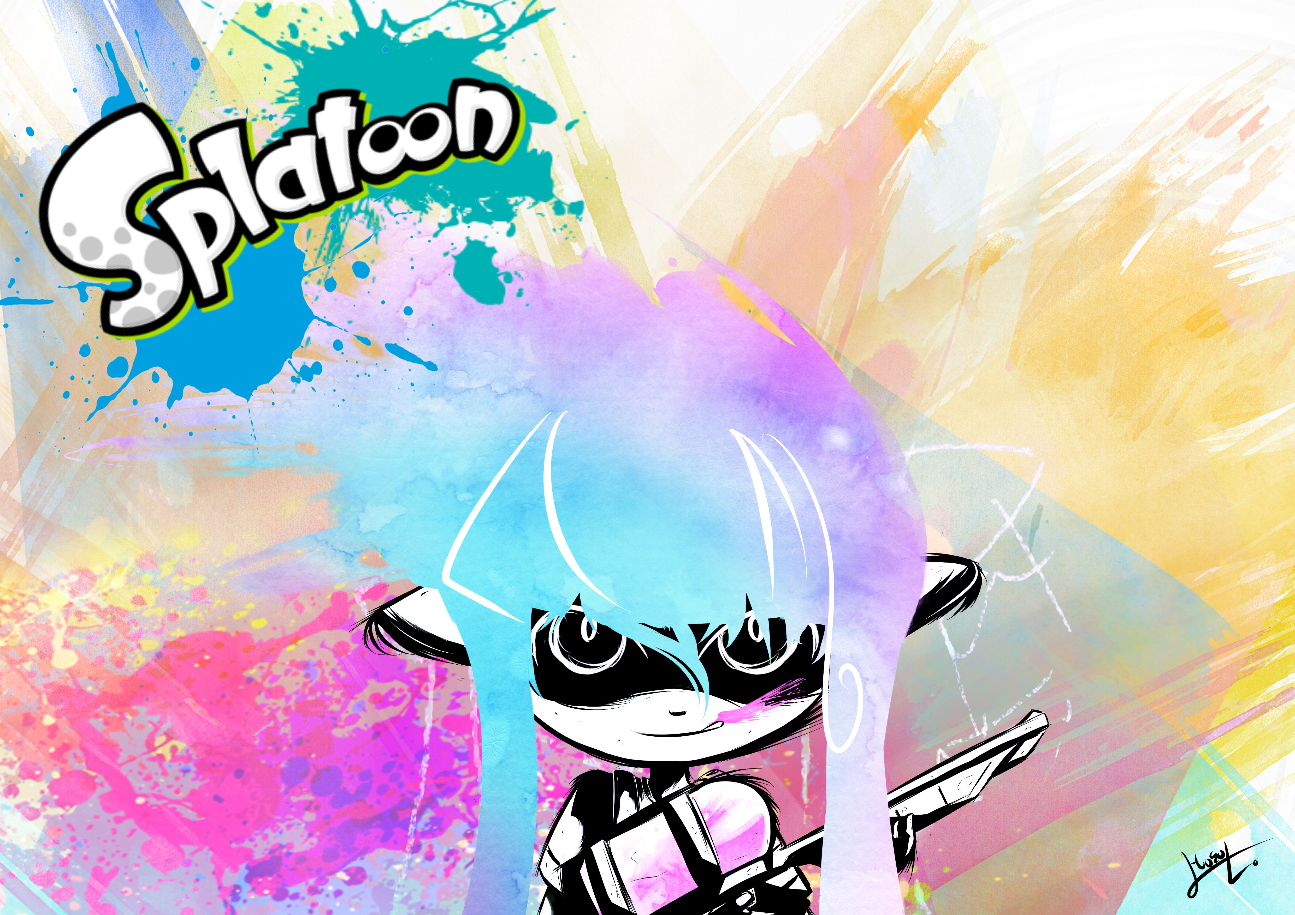 Splatoon: changelog for update 2.0.0- weapon video for the ...