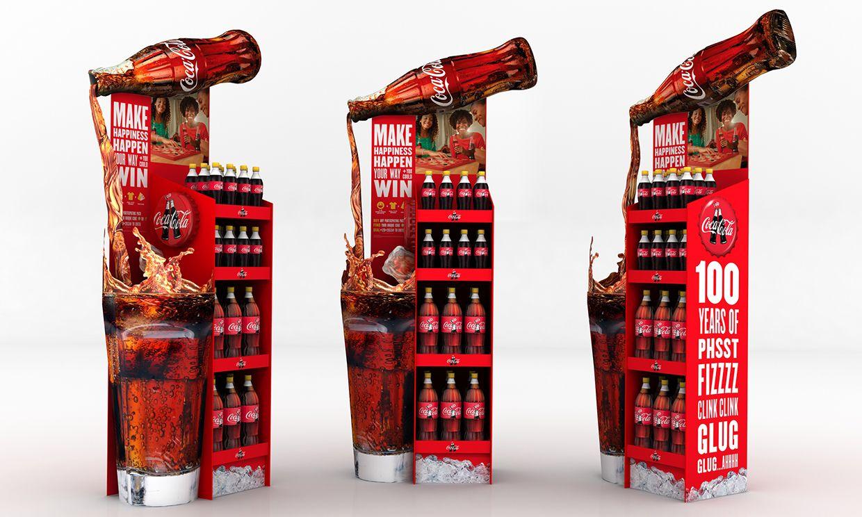 Coke 2015 Tasarim Reklam Palet