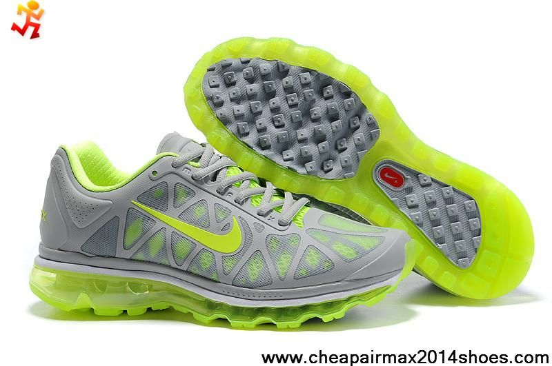 excellent quality order on feet images of nike air max 2011 neon vert
