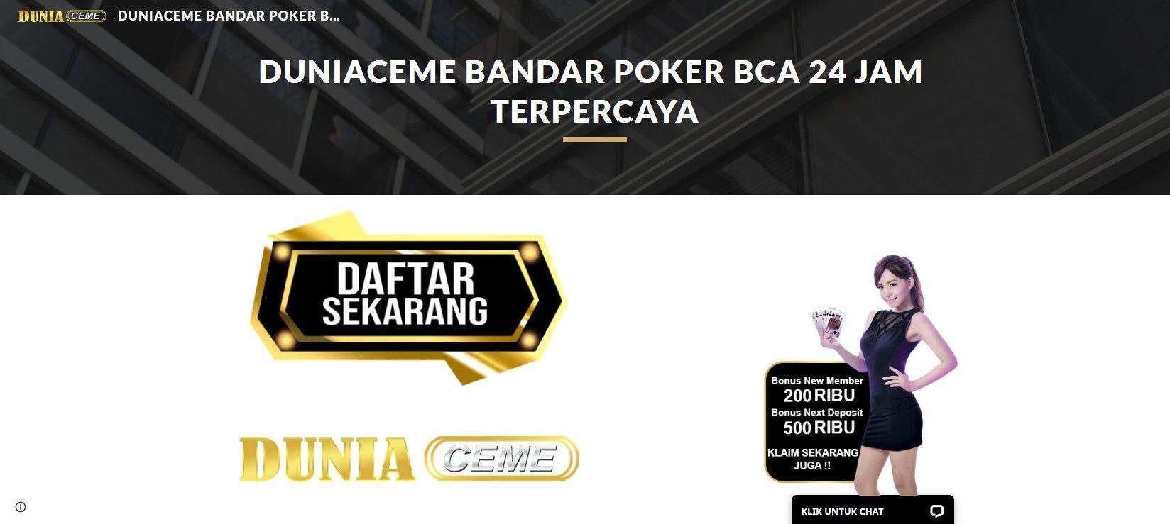 Pin On Bandar Poker Bca 24 Jam Terpercaya