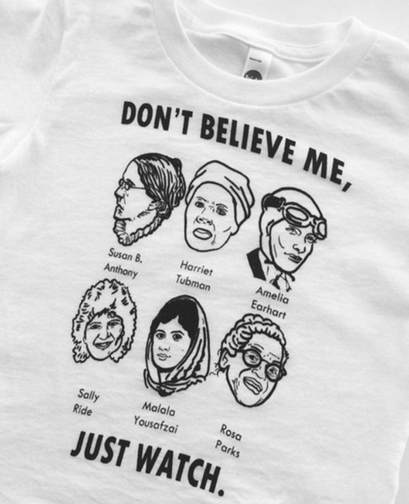 46640b398e89ac Dont Believe Me Just Watch Graphic T shirt Women
