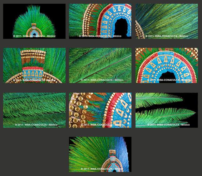 Jorge Westendarp Penacho De Moctezuma En 3d Fotografia 3d Museo Nacional De Arte Arte Plumario