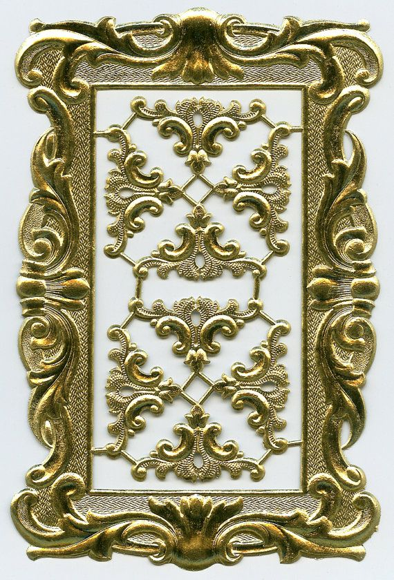 dfec95f5d2b GOLD DRESDEN FRAME - Dresdens - Dresden Frame - Gold Foil Frame ...