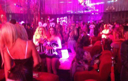 Playboy Mansion Halloween Party 2014: Avoid the Figure Flattering Black