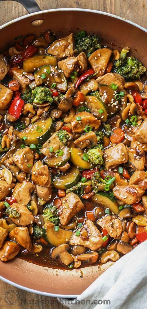 Photo of Chicken Stir Fry Recipe – NatashasKitchen.com