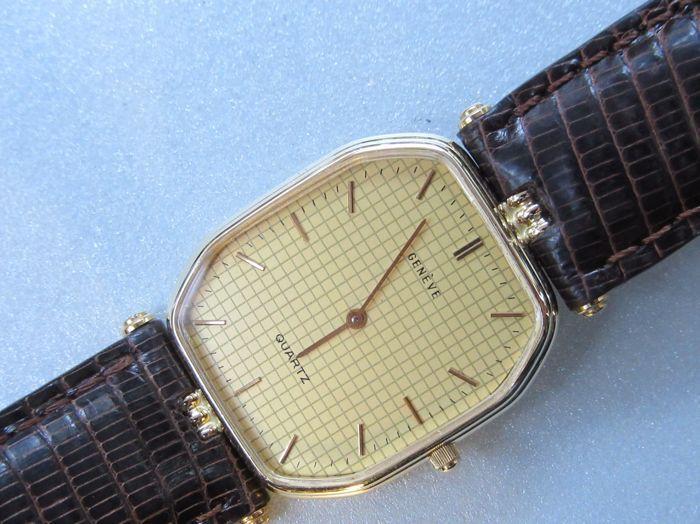 Genève 14k Gouden Dames Unisex Horloge Genève Dames