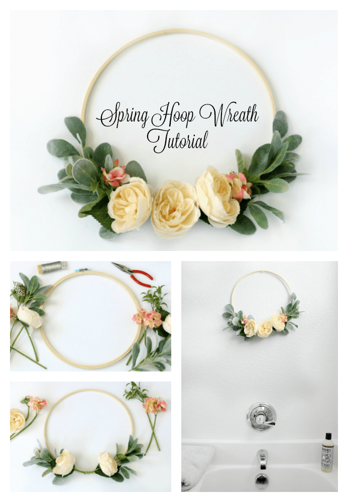 Photo of Hoop wreath tutorial with step-by-step instructions