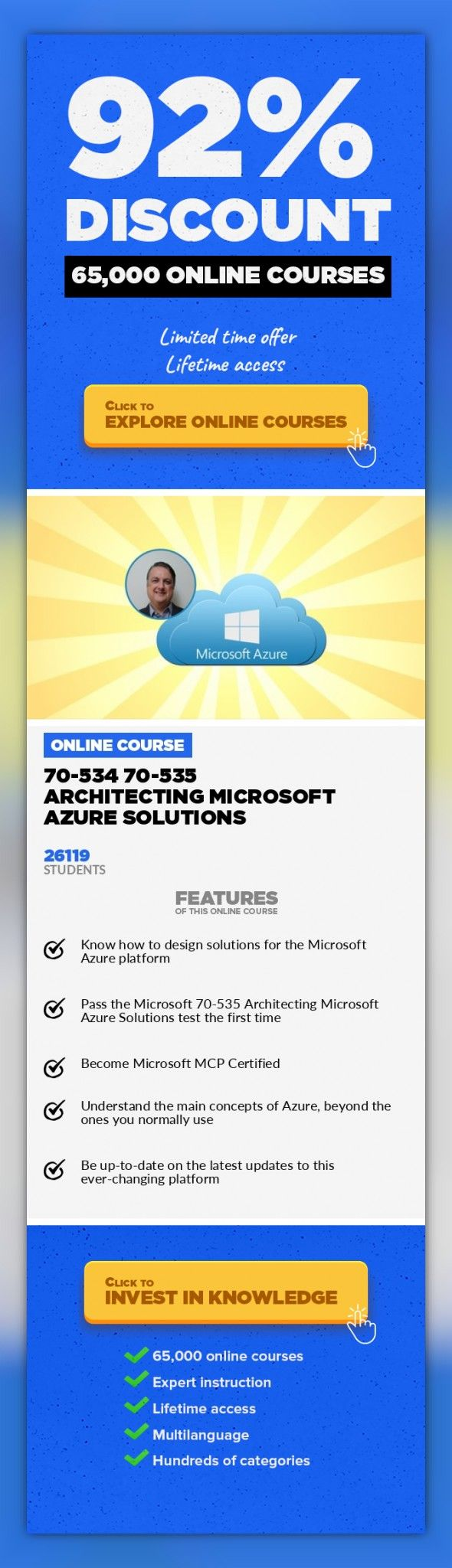 70 534 70 535 Architecting Microsoft Azure Solutions It