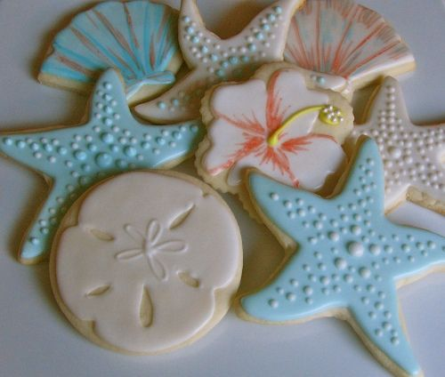 Hawaiian Themed Wedding Ideas: Hawaiian Wedding Cookies...in Pretty Plastic Bags W