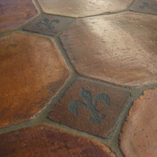 This Old Coconut Grove Mexican Saltillo French Terracotta Tiles