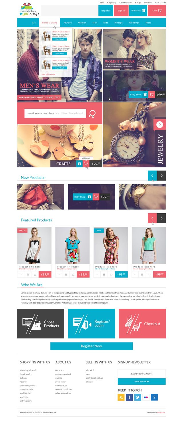 All These top quality PSD web site templates were designed by ...