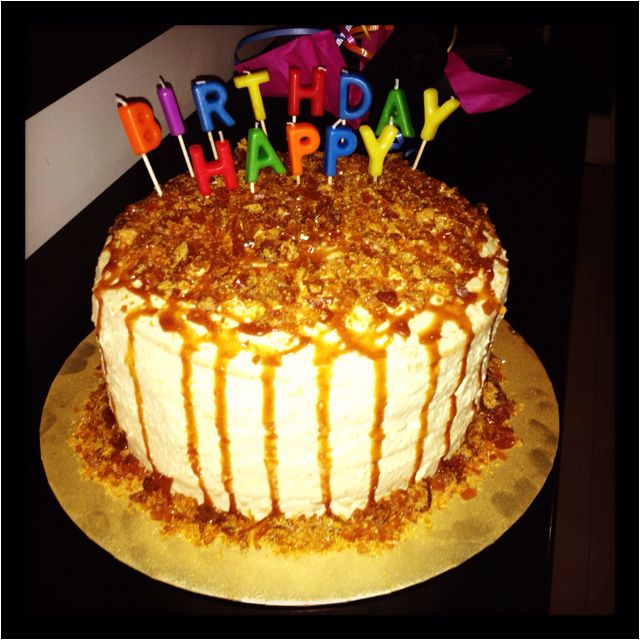 Happy Birthday Caramel Cake Cake Caramel Cake Favorite Recipes