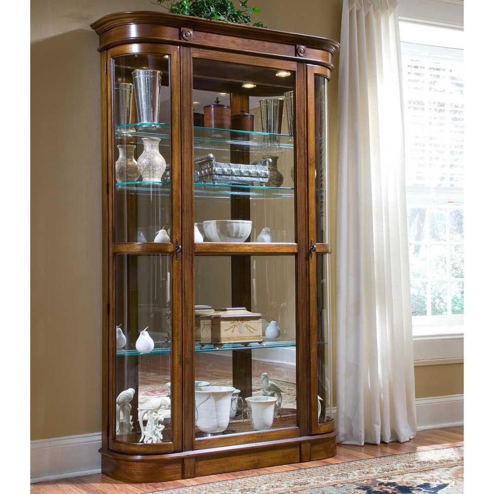 Small Glass Curio Cabinet Display Case   Best Interior Wall Paint Check  More At Http:
