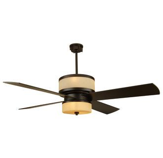 Craftmade Midoro Four Blade 56 Modern Ceiling Fan With Integrated Uplight Downlight Remote