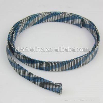 Flexible PET steel Braid Cable/Wire Protect Sleeving, Expandable ...