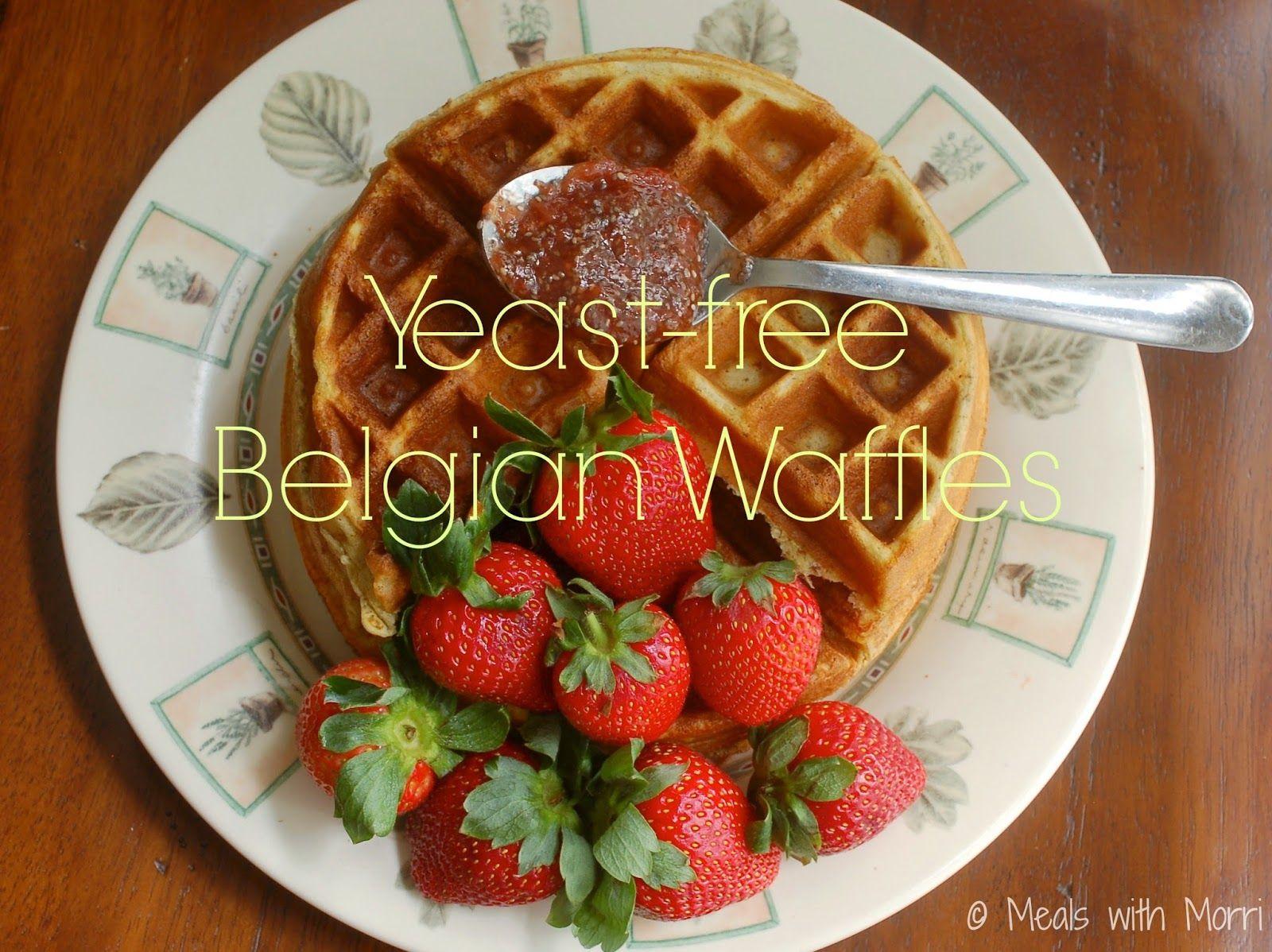 No yeast belgian waffles for brunch gluten free recipes