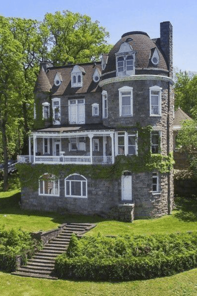 1895 Stone Mansion In Mount Arlington New Jersey Captivating Houses Stone Mansion Mansions Mansions For Sale