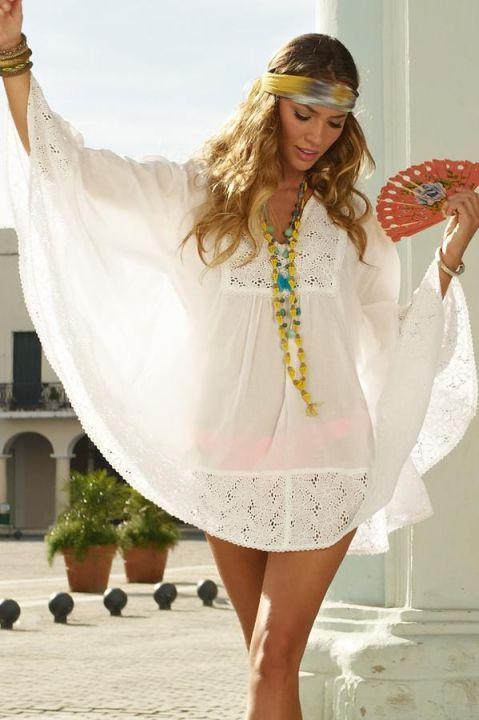 53b13c6ac6 OndadeMar Swimwear  Crochet Blanco  Cover-up