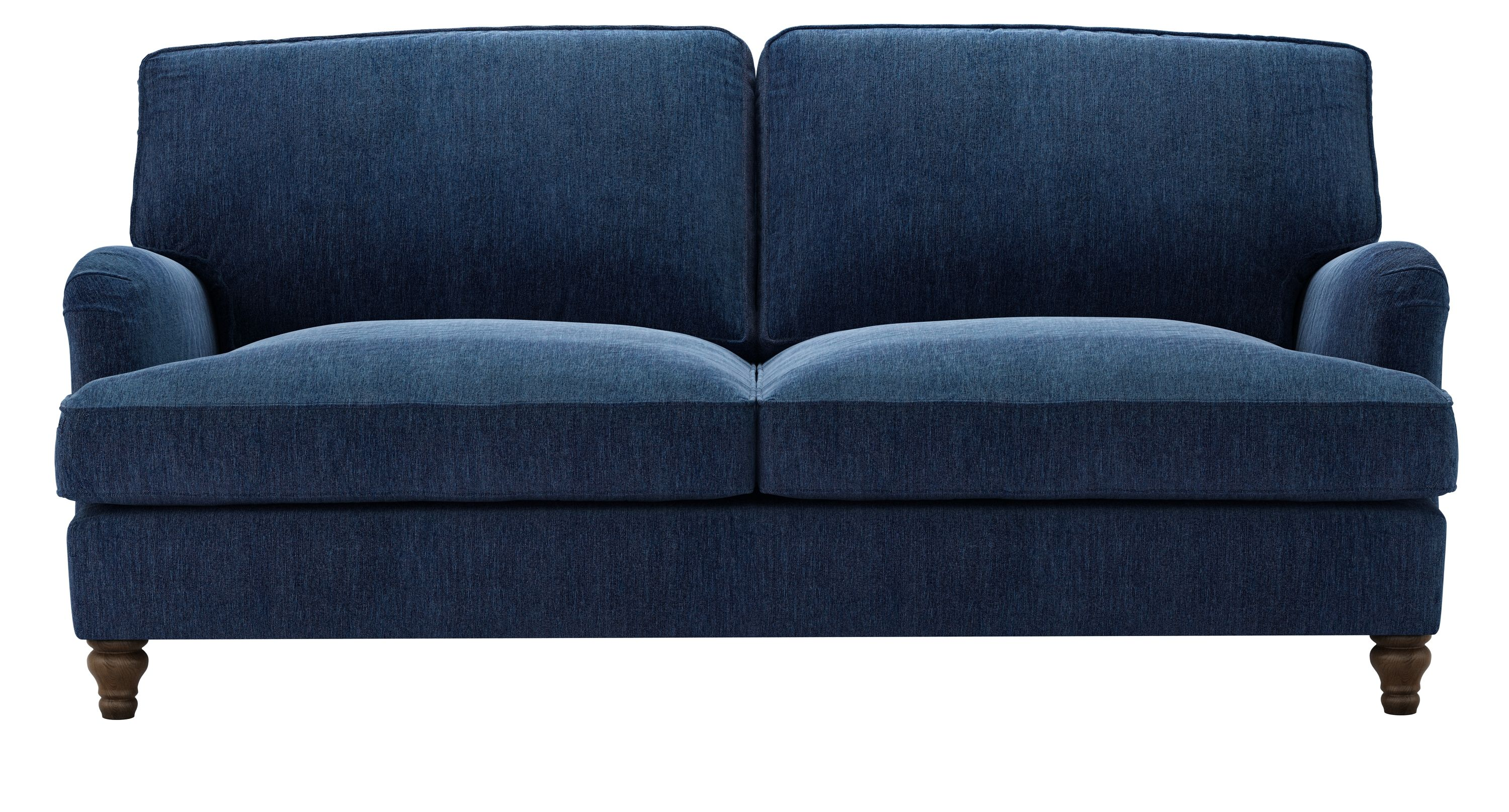 Bluebell Three Seat Sofa Bed in Como Chenille   Fabric ...