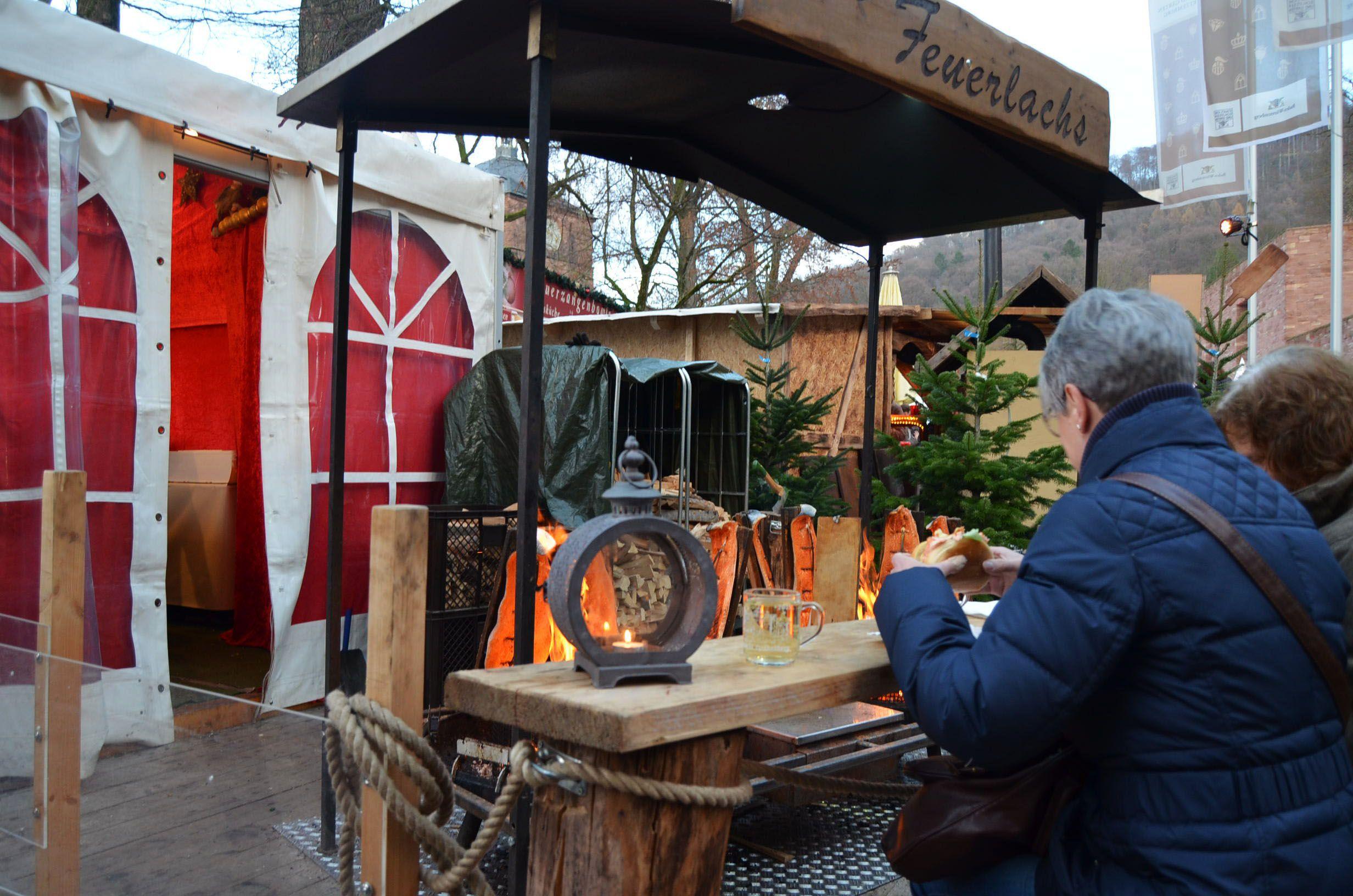 Mercadillo navidad castillo Heidelberg