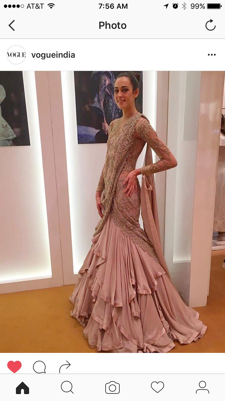 Pin von Pallavi T auf Reception | Pinterest | Indische saris ...