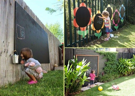 Garden ideas for kids so creative things and projects also
