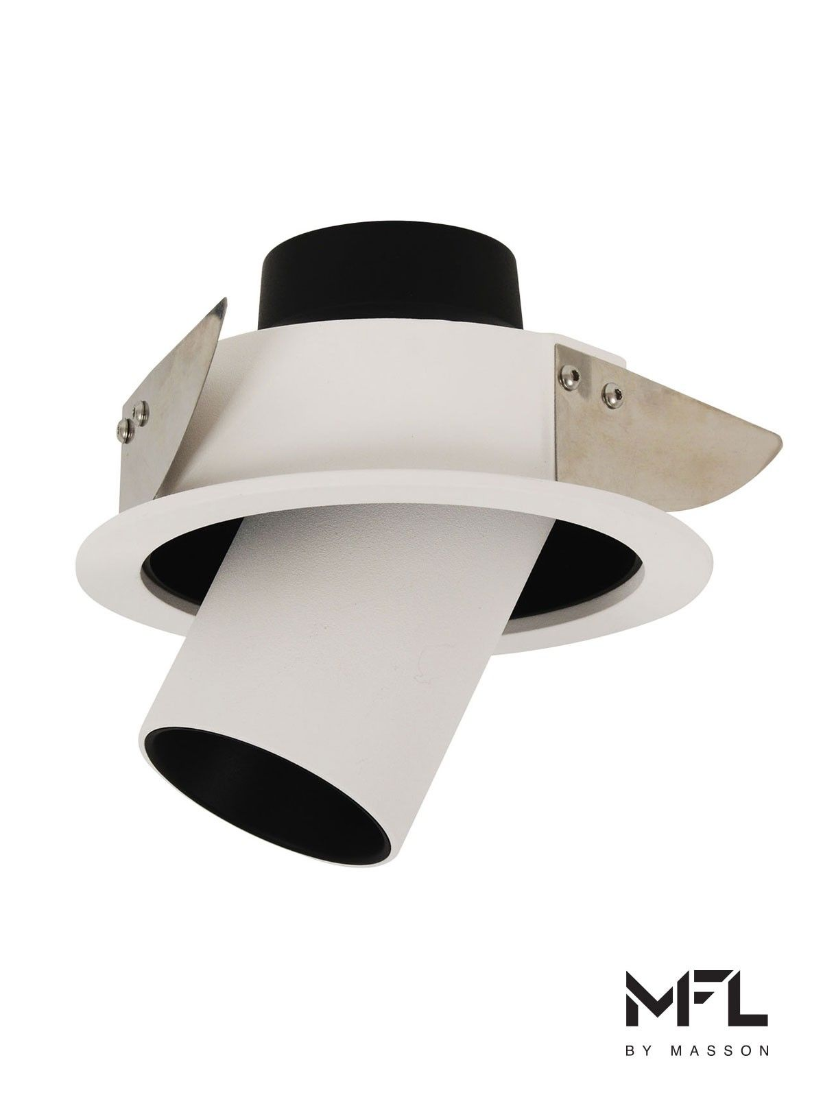 Mfl By Masson Titan Adjustable 700 Lumens Led White Downlight In