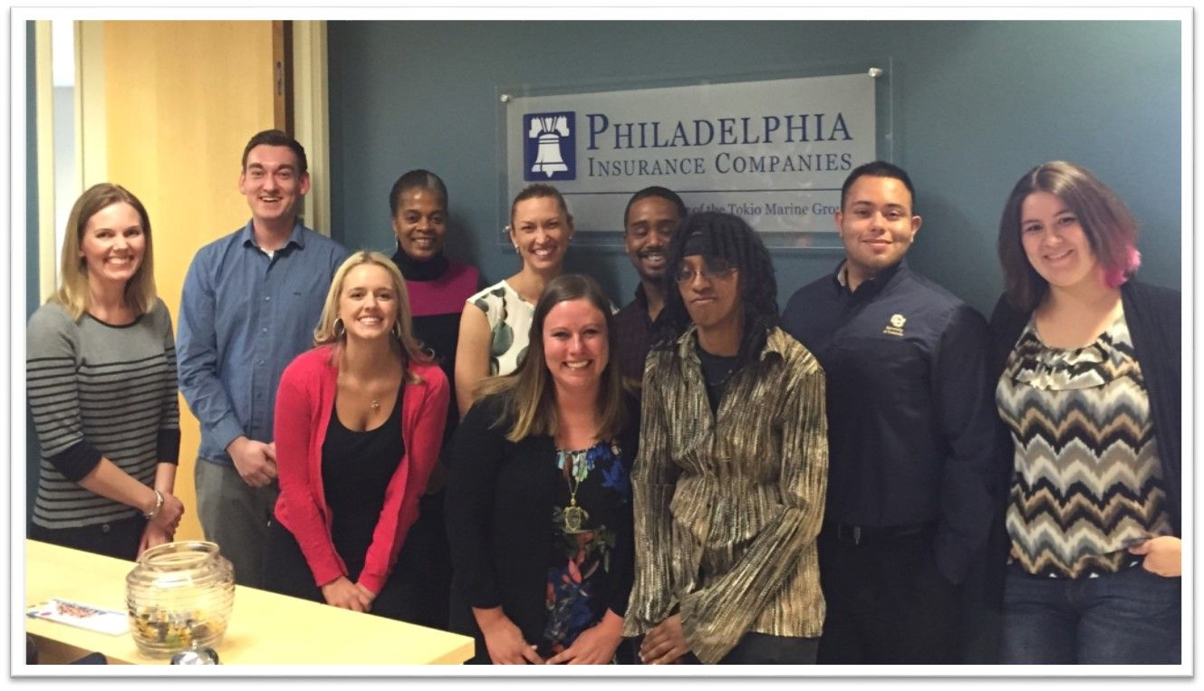 Rmi Students Participated In Shadow Day At Philadelphia Insurance