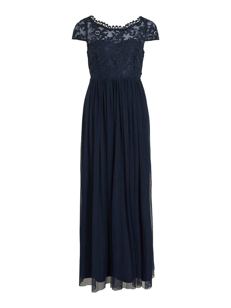 Photo of VILA Kleid in nachtblau
