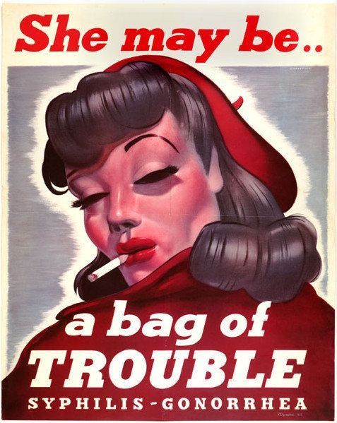 Bag of Trouble by TheGlamourist on Etsy, £12.50