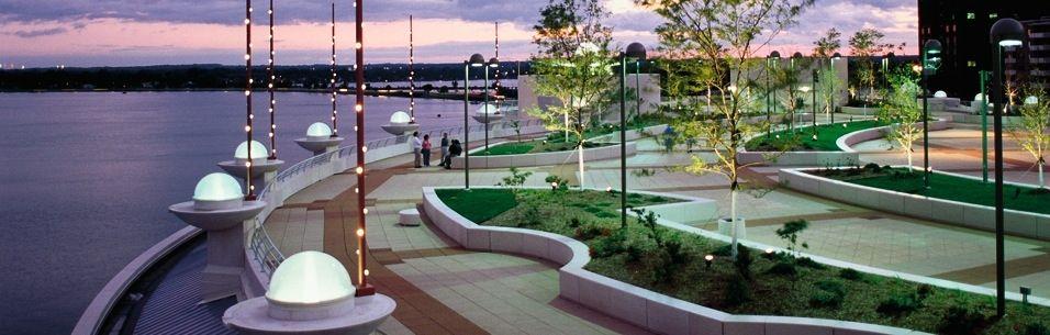 Monona Terrace Community And Convention Center Monona Terrace Rooftop Garden Madison Wisconsin