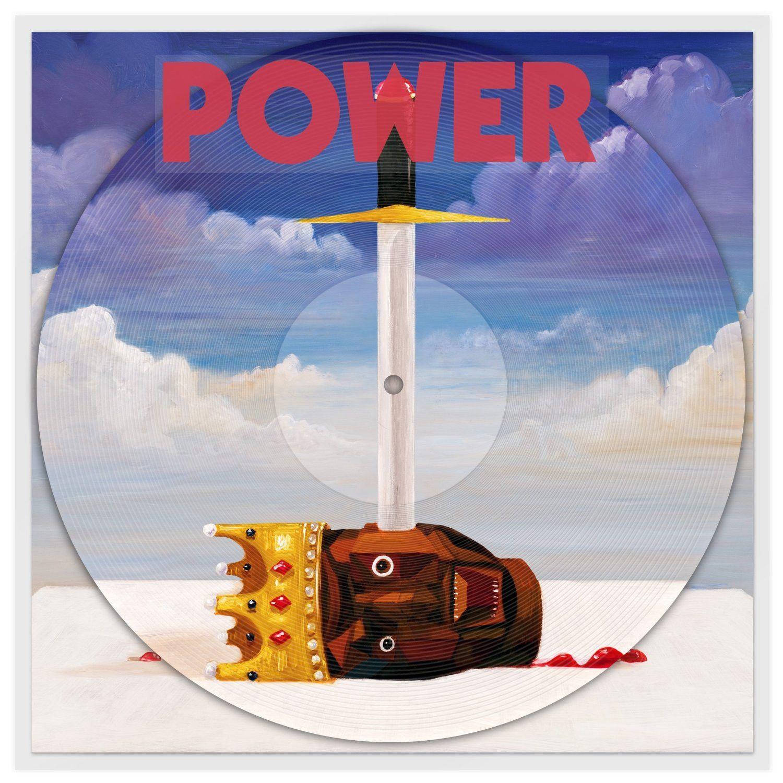 Kanye West Power 12 Picture Disc Kanye West Power Kanye Kanye West