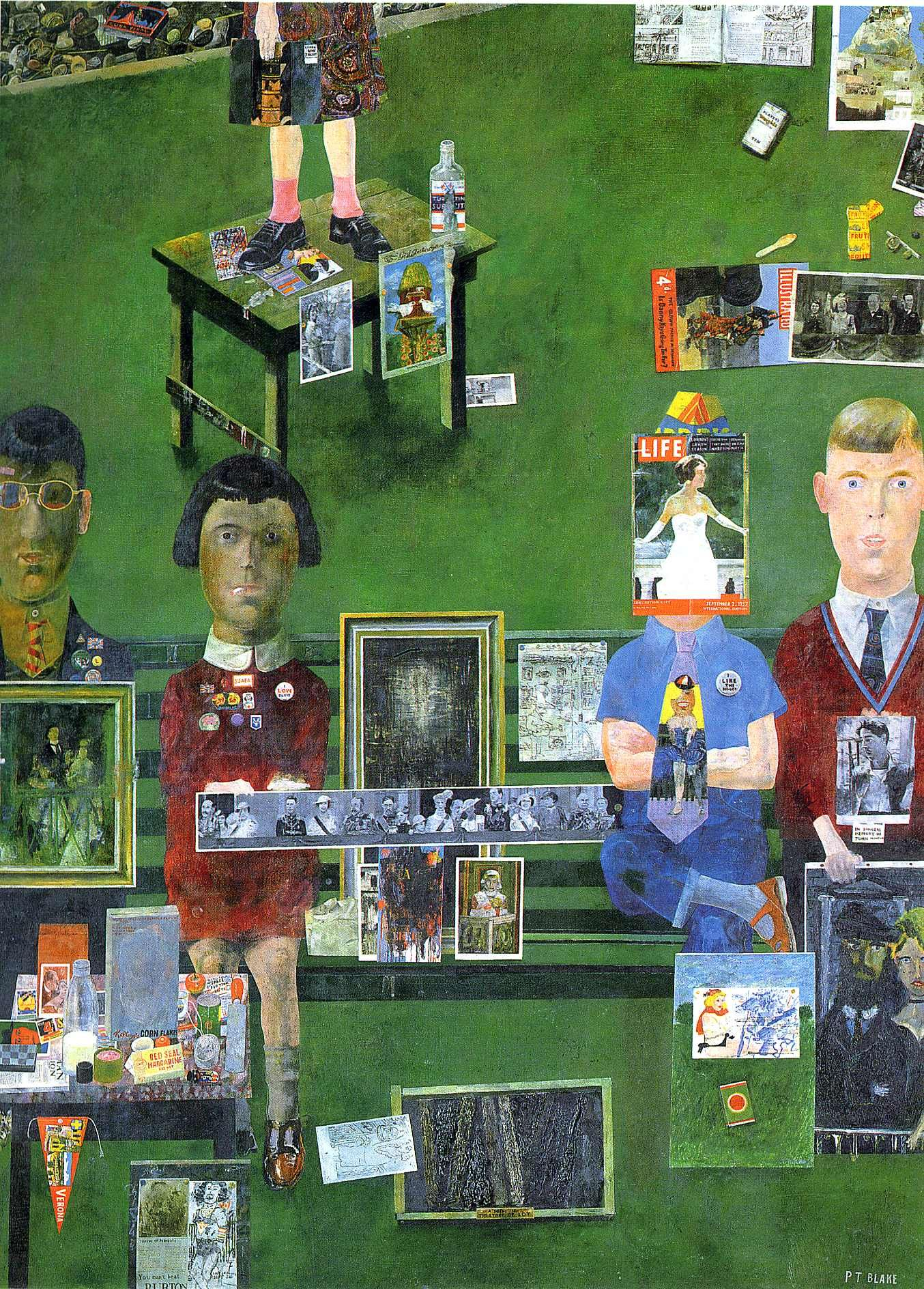 The Project Gallery presents prints by Peter Blake