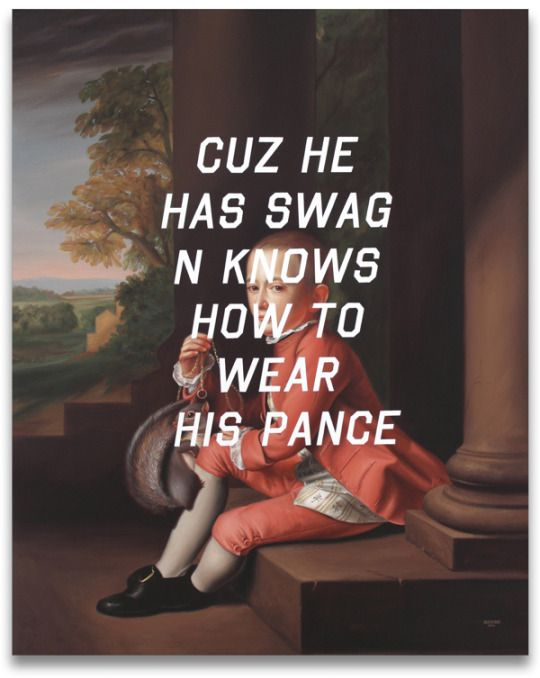 Paintings by Shawn Huckins