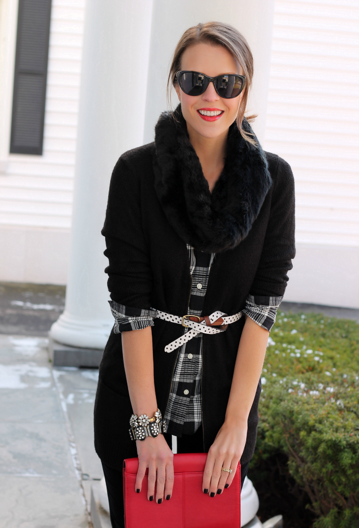 Holiday layers  layeredONstyle Winter Outfits 2014 7c4fd46058388
